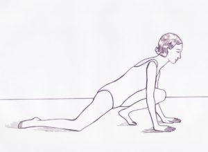 Etirement-psoas-droit-genou