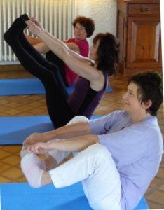 adaptation de la posture par chaque participant