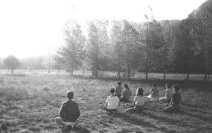 méditation le matin - stage yoga Sainte-Baume